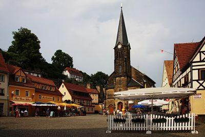 Wehlen - Marktplatz