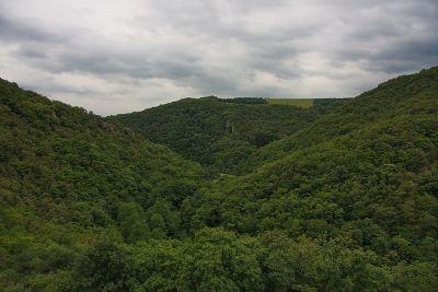 Ausblick von der Schmidtburg