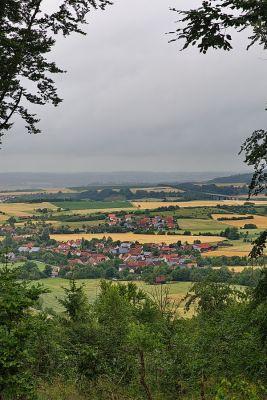 Zwischen Unteroestheim und Schnelldorf