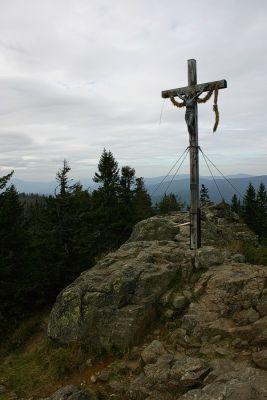 Gipfelkreuz Rachel